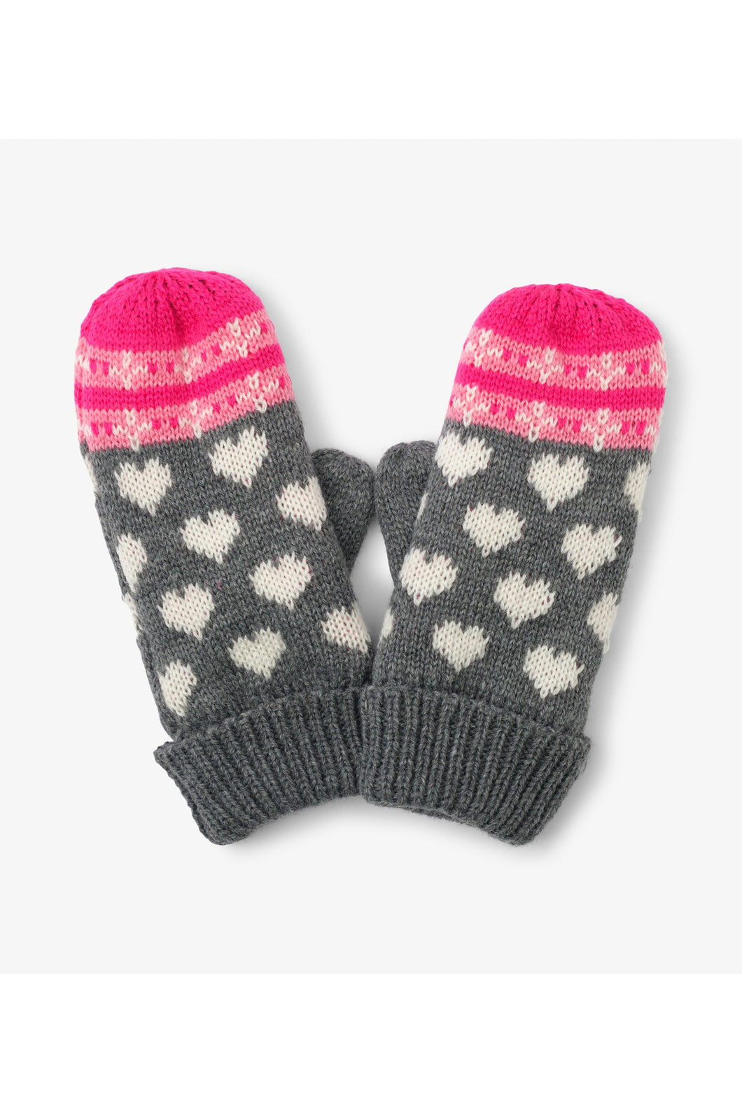 WINTER HEARTS MITTEN