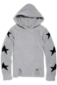 SCATTER STARS HOODY SWEATER