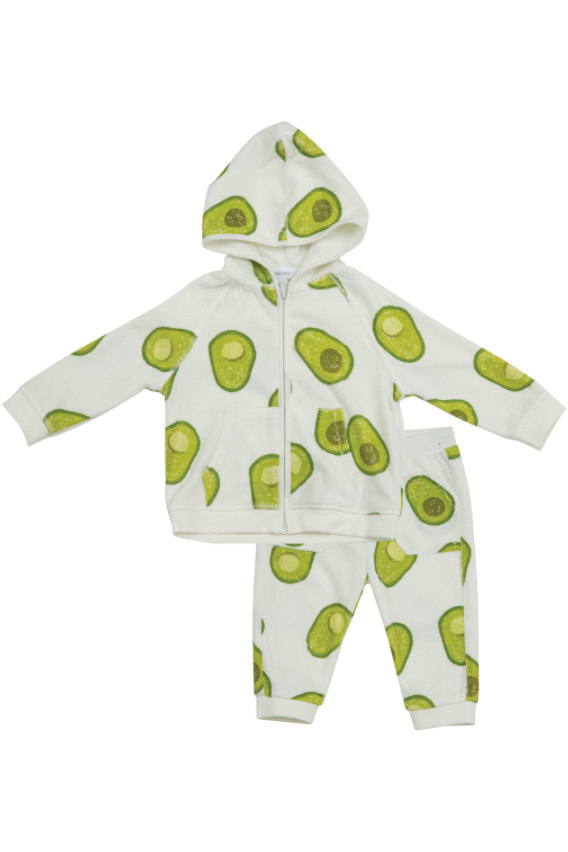 AVOCADO TERRY JACKET & PANT SET