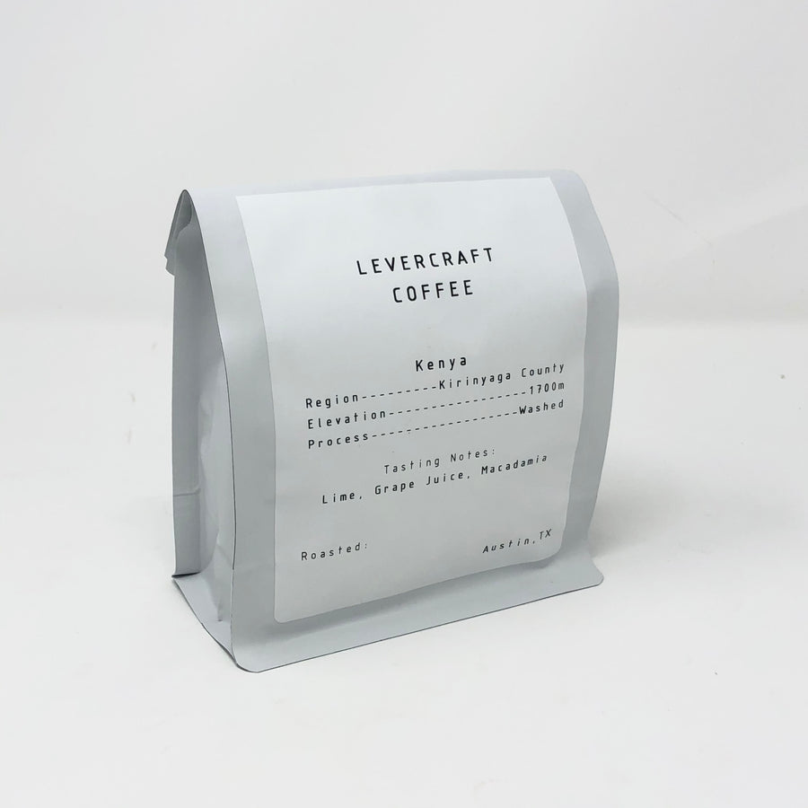 Single Origin - Kenya - Kirinyaga - 12oz