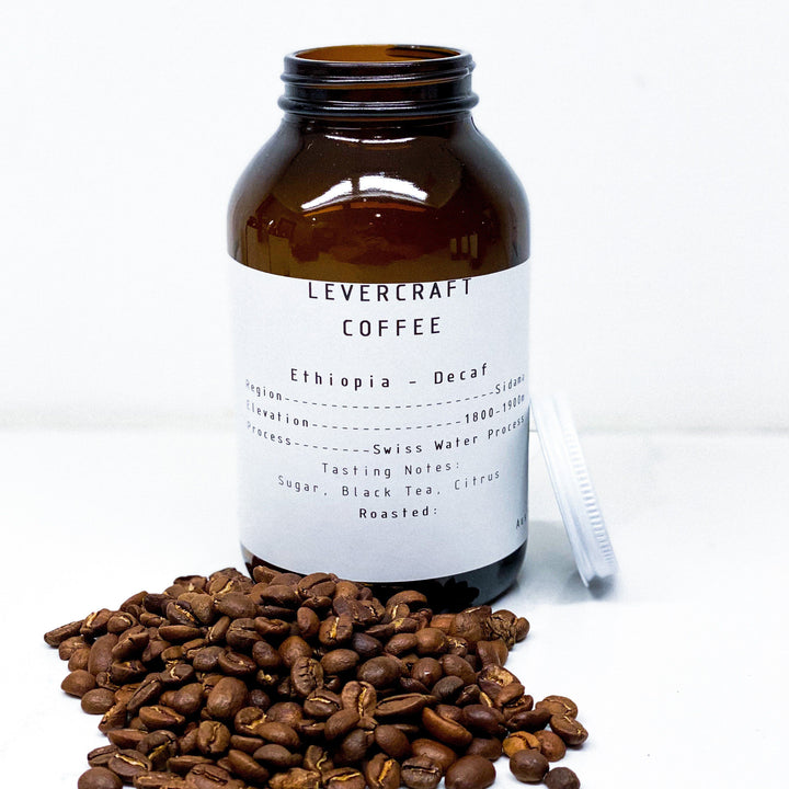 Single Origin - Ethiopia Decaf - Sidamo Whole Bean Coffee LeverCraft Coffee