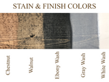 stain and wood finish colors - Woodbott