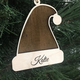 personalized name christmas ornaments - Woodbott