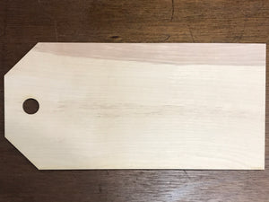 Blank Wood Gift Tags