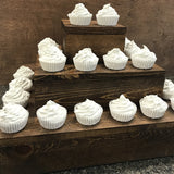 rustic wood cupcake stand for wedding reception - Woodbott