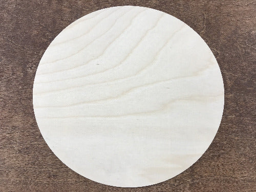 18 inch wooden rounds - Glowforge sign making circles - Woodbott