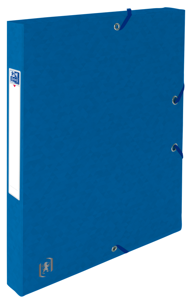 Oxford Top File + # verzamelbox A4 25mm blauw