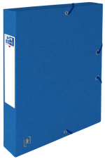 Oxford Top File + # verzamelbox A4 40mm blauw
