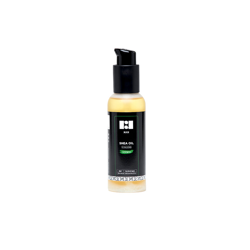 Men's Travel Sized Shea Oil - Lemongrass