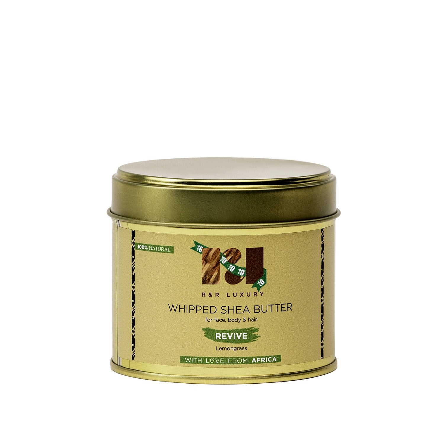 Eco-Friendly Whipped Shea Butter - Revive (Lemongrass)