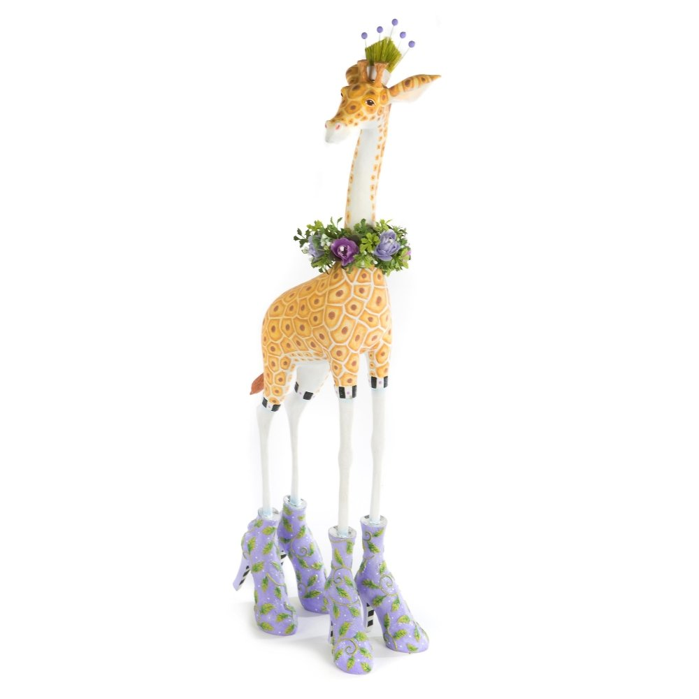 "25"" Janet or George Giraffe Figure - My Christmas"