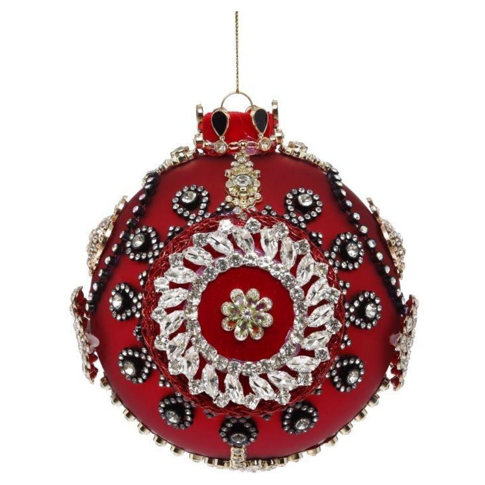 Red King's Jewel Ball, 12.7cm