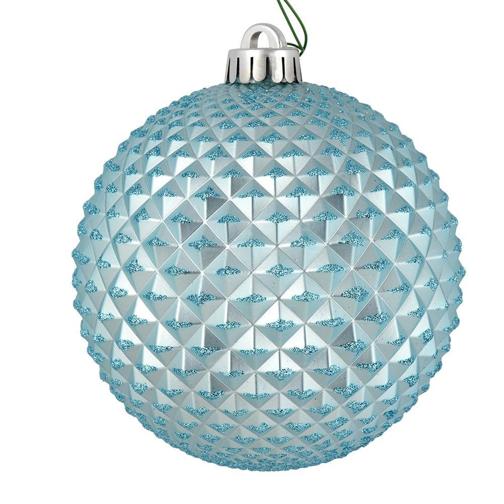 Baby Blue Durian Ball, 10cm - My Christmas