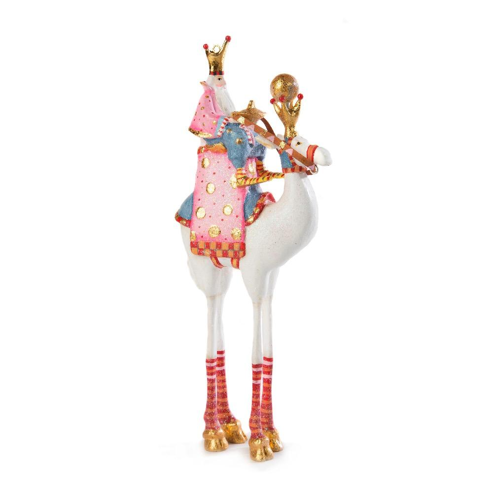 Balthazar On Camel Ornament - My Christmas