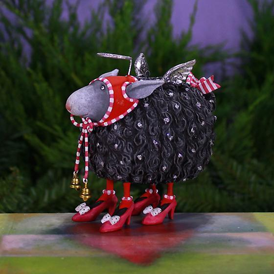 Barbara Black Sheep Ornament - My Christmas