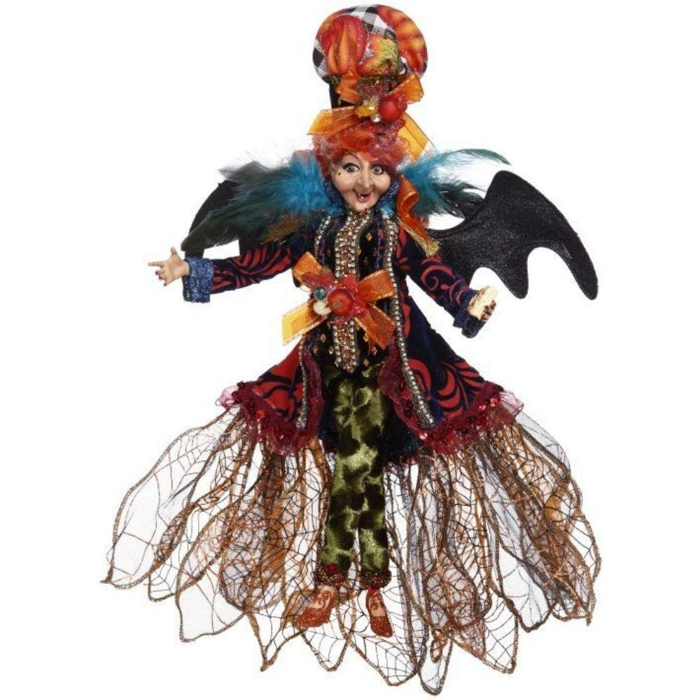 Bat Berry Pie Witch, 34cm - My Christmas