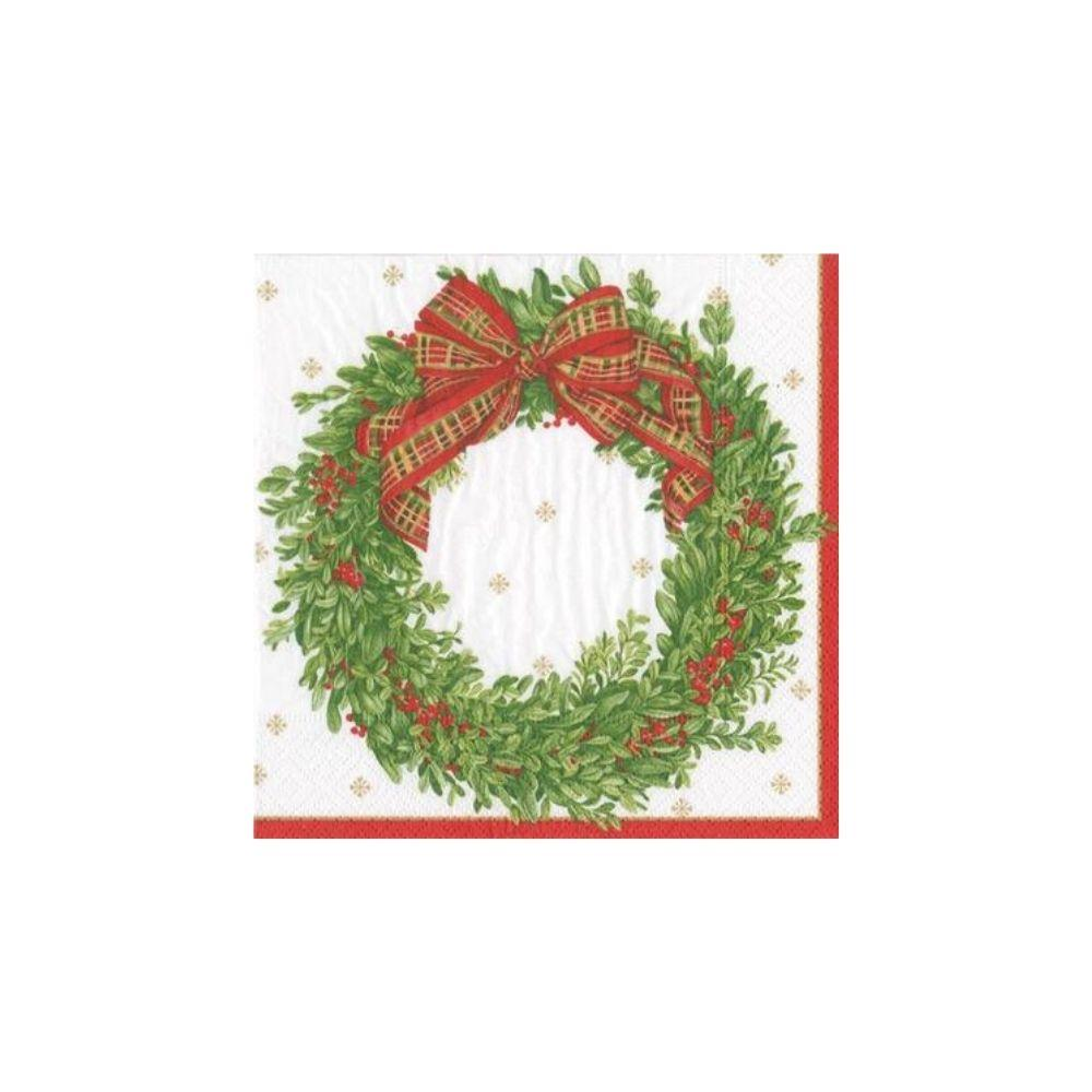 Berries Wreath Napkin - My Christmas