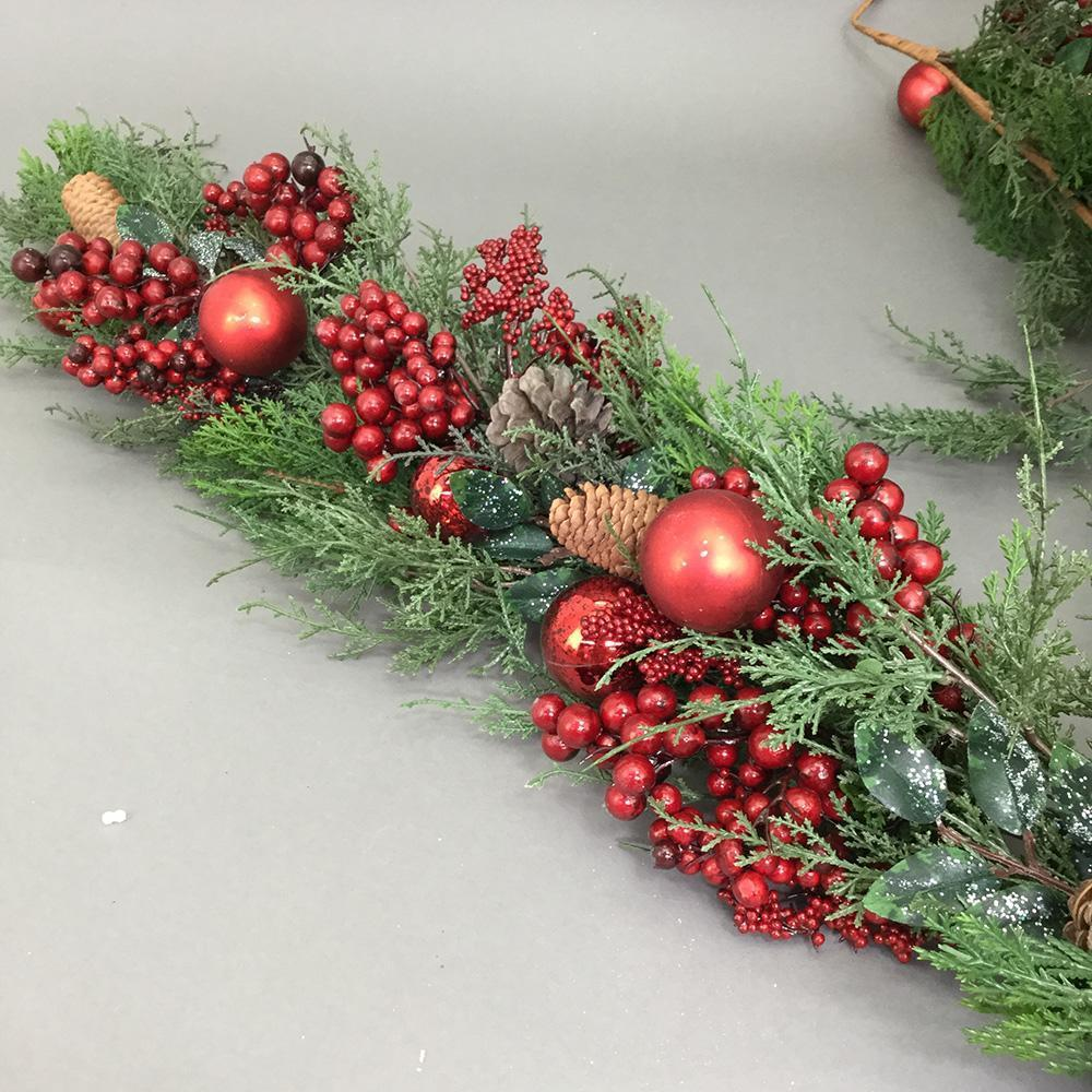 Berry And Bauble Garland, 180cm - My Christmas