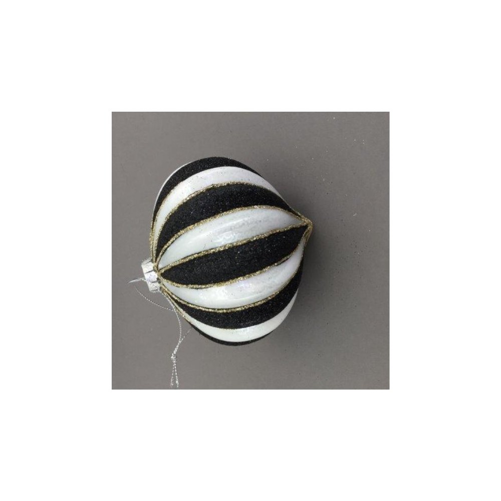 Black and White Striped Onion - My Christmas
