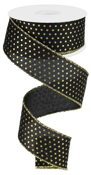 Black & Gold Ribbon - My Christmas