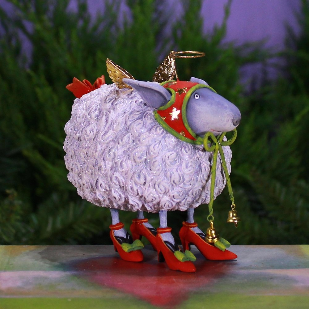 Blanche White Sheep H/O - My Christmas