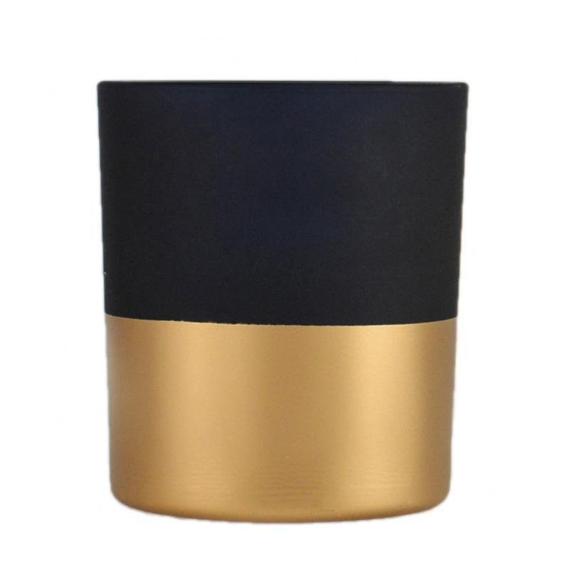 Blue and Gold Candle Holder - My Christmas