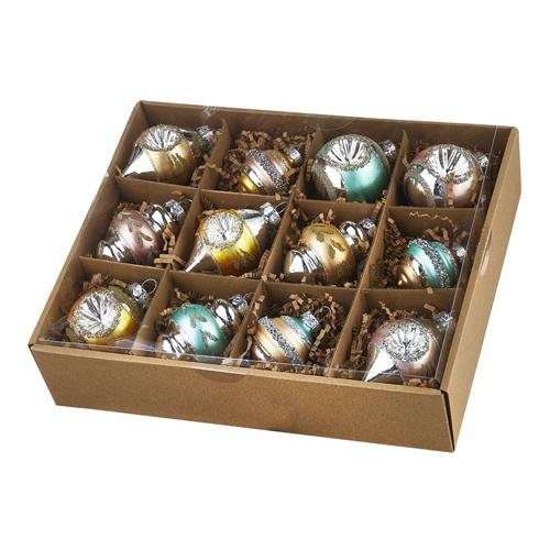 Box of Vintage Ornaments - My Christmas