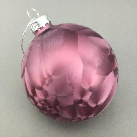 Burgundy Vivid Ball - My Christmas