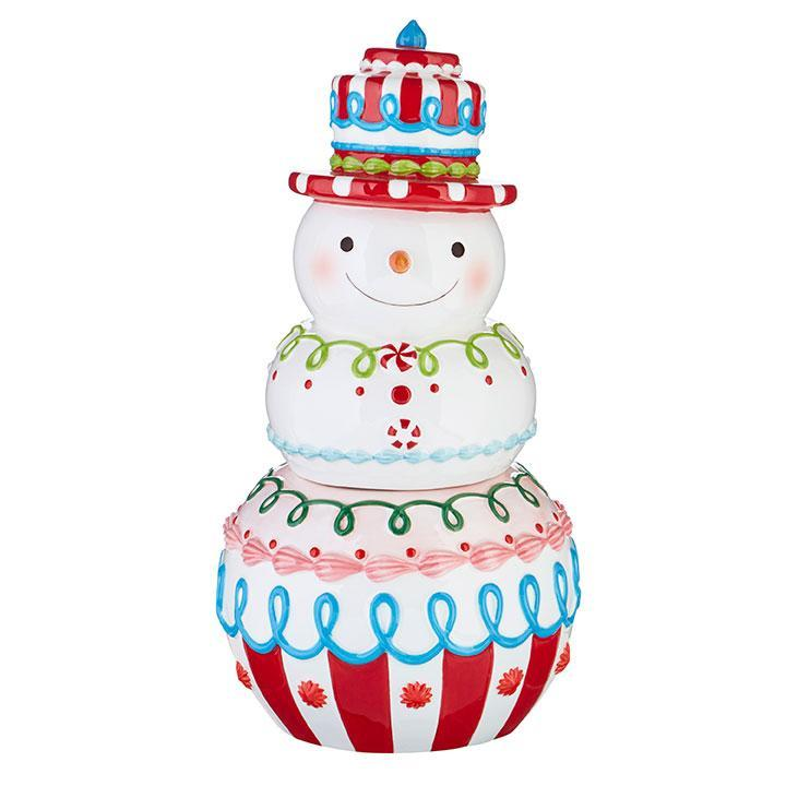 Candly Snowman Cookie Jar - My Christmas