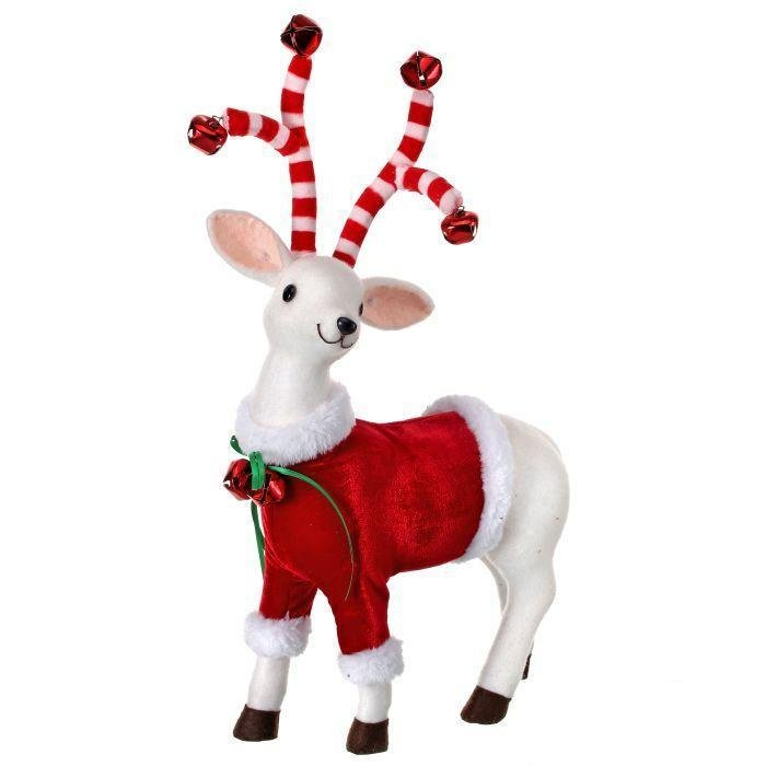 Candy Cane Deer, 40cm - My Christmas