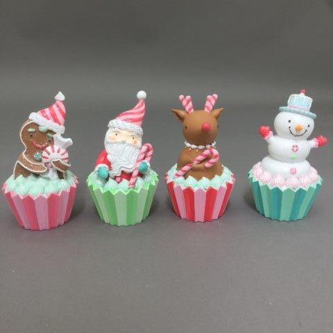 Candy Cupcakes - My Christmas