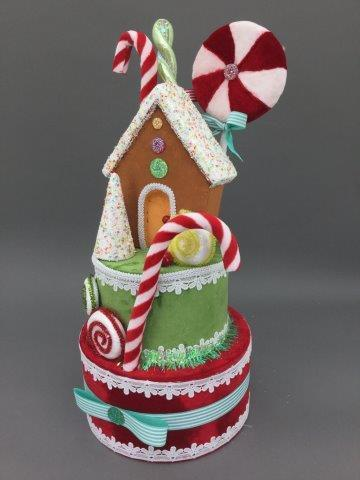 Candy Gingerbread Display - My Christmas
