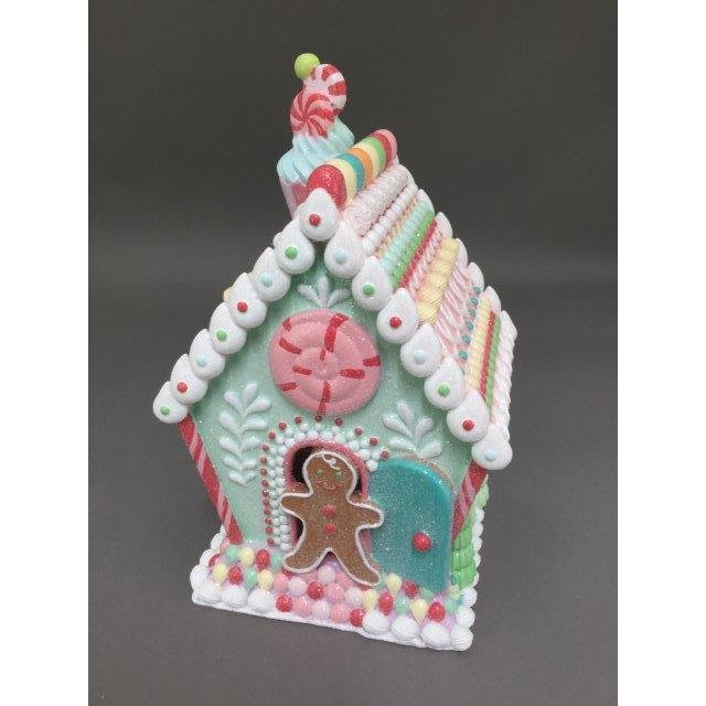 Candy Gingerbread House - My Christmas