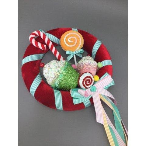 Candy Wreath, 42cm - My Christmas