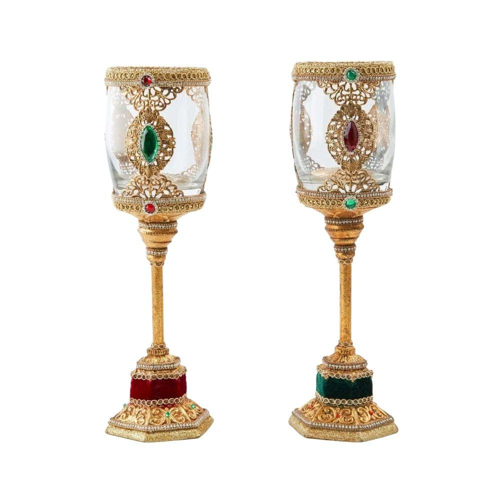 Chalice Candle Holder, 30cm - My Christmas