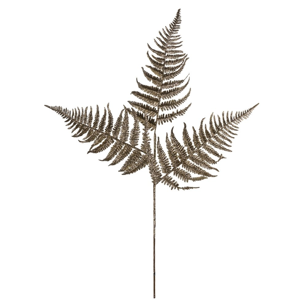 Champagne Fern Spray - My Christmas