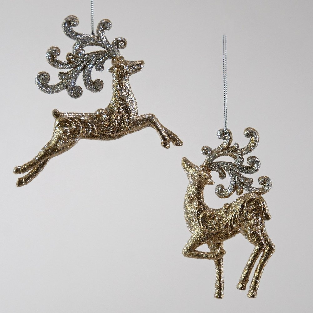 Champagne Reindeer Ornament - My Christmas