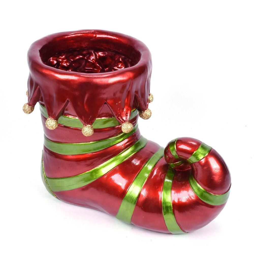Christmas Elf Boot Container, 50cm - My Christmas