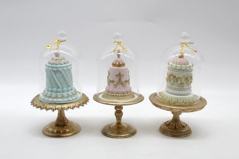 Eloquence Cake Cloche Assorted - My Christmas