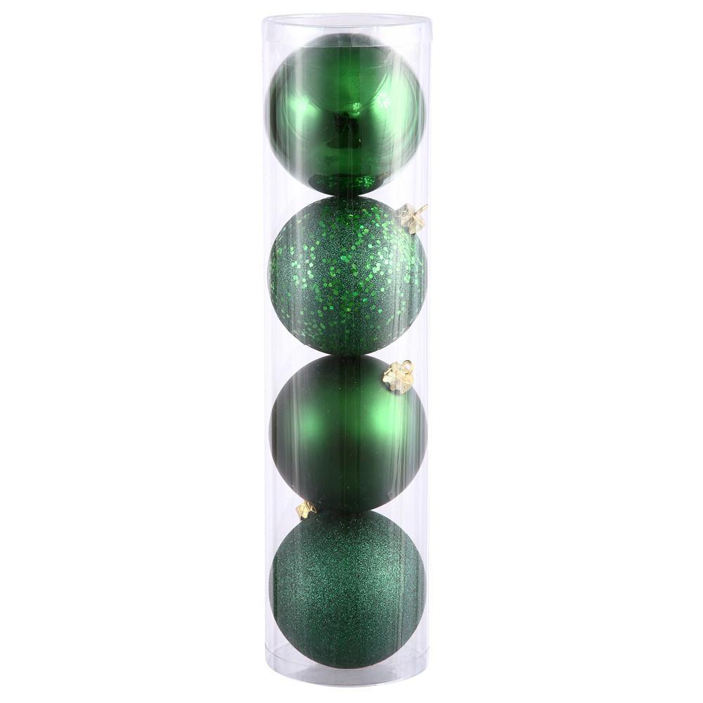 Emerald Baubles, Various Sizes - My Christmas