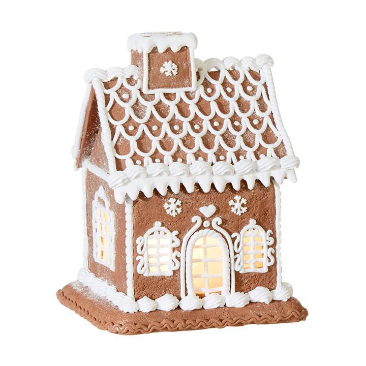 Free Standing Lit Gingerbread House - My Christmas