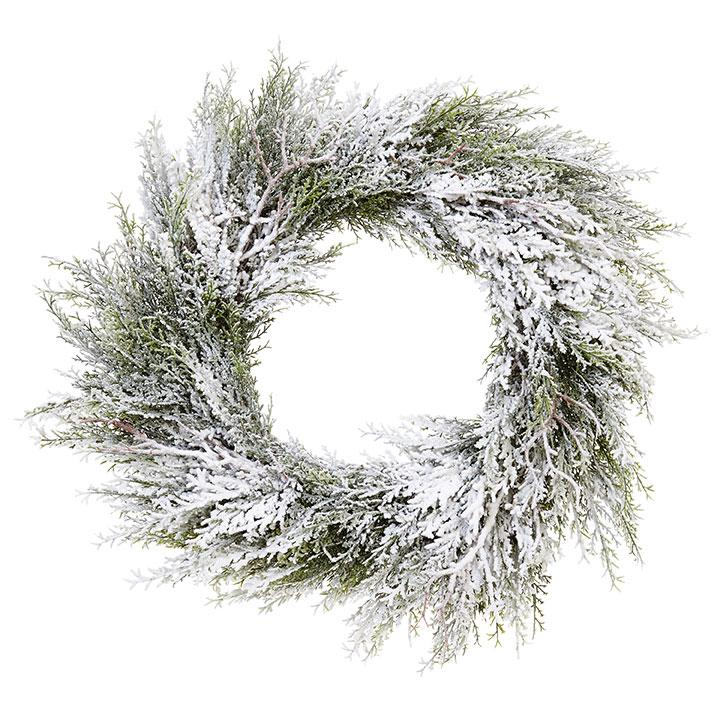Frosted Wreath - My Christmas