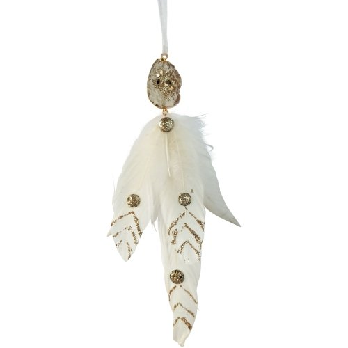 Gemstone Feather Ornament - My Christmas