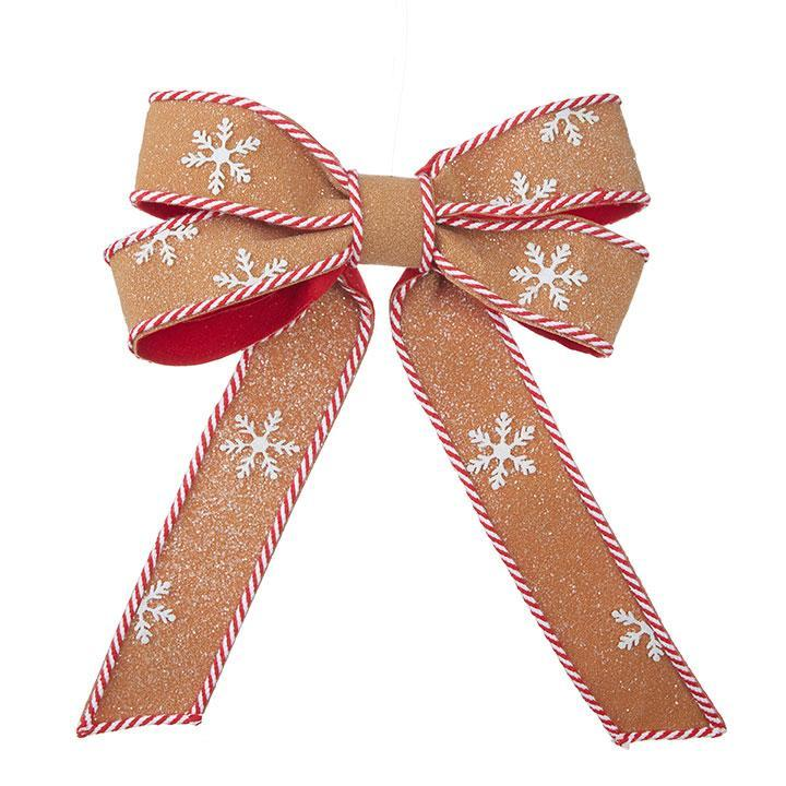 Gingerbread Bow, approx 41cm - My Christmas