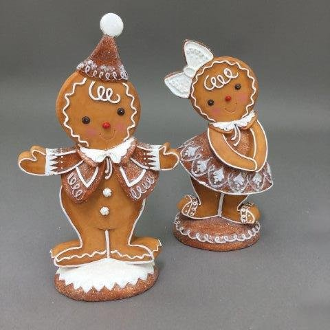 Gingerbread Boy and Girl, 19cm - My Christmas