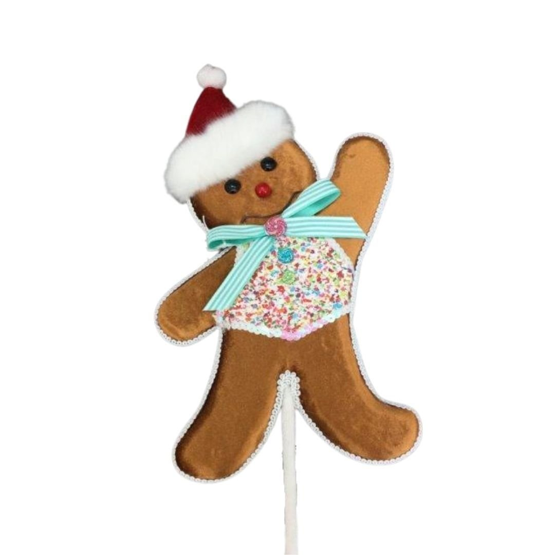 Gingerbread Boy Pick - My Christmas