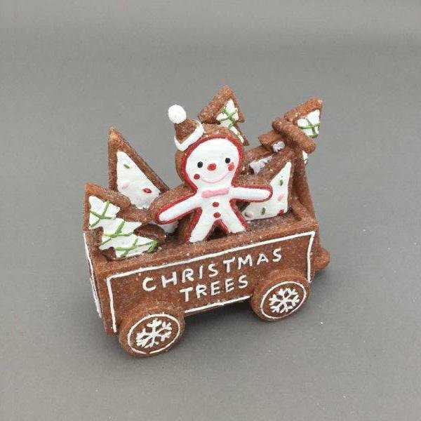 Gingerbread Cart - My Christmas