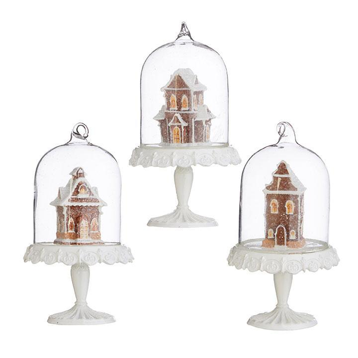 Gingerbread Cloche Ornament - My Christmas