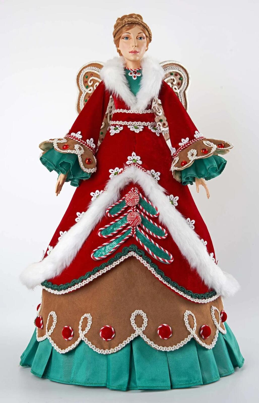 Gingerbread Cone Angel, 55cm - My Christmas