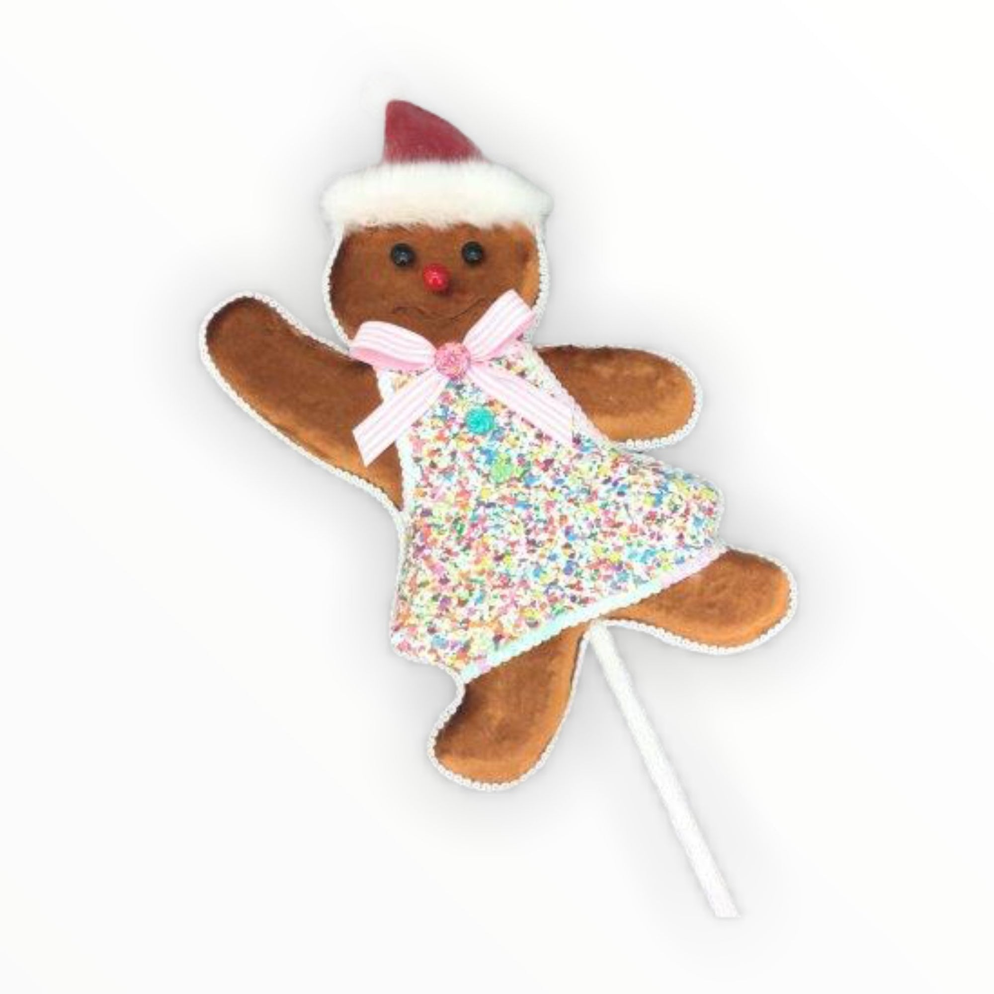 Gingerbread Girl Pick - My Christmas